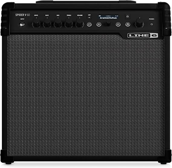 Line 6 Spider V60 MkII Combo para Guitarra Eléctrica 60w: Amazon ...
