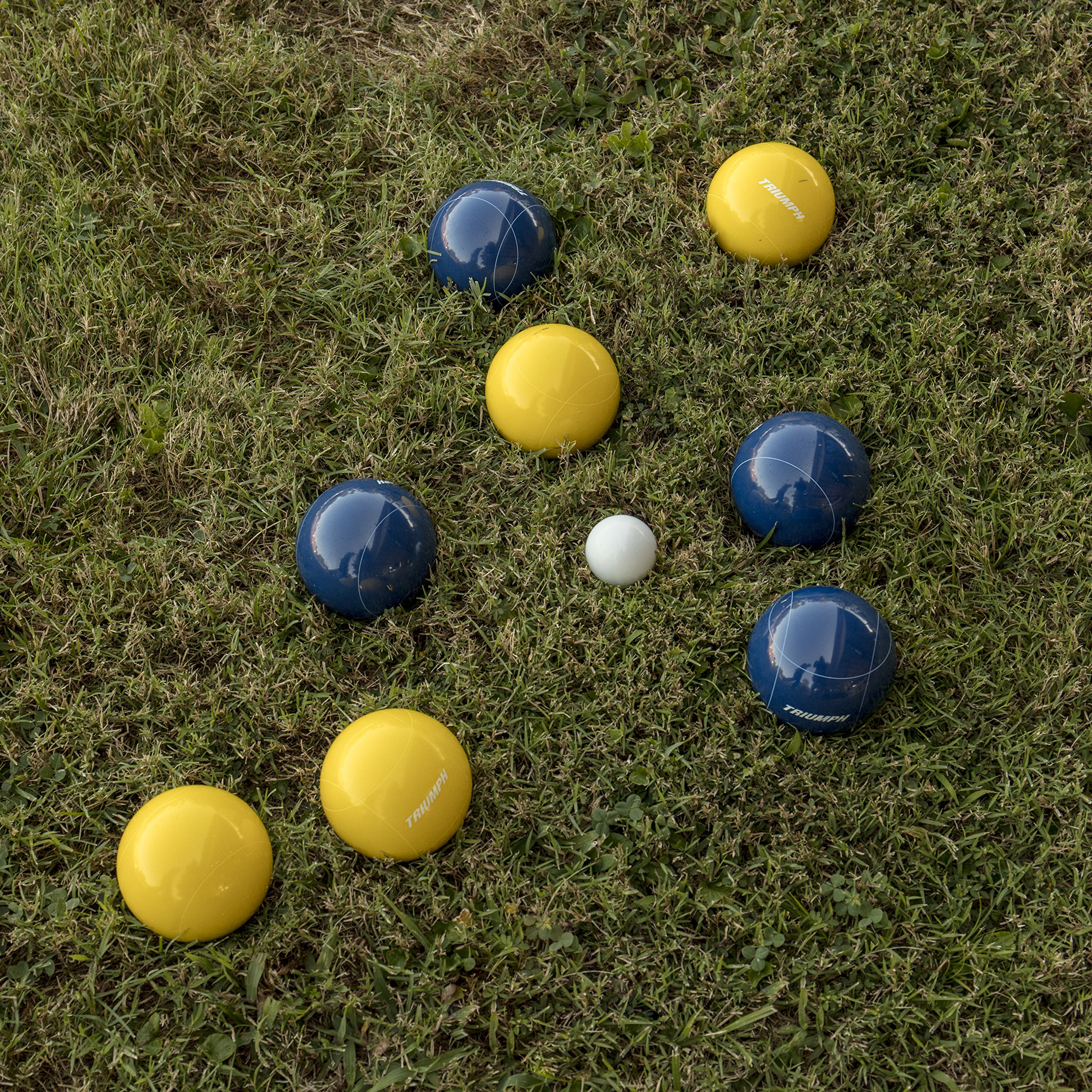Triumph All Pro 100mm Bocce Set Includes Eight Bocce Balls, One 50mm Jack, and Carry Bag by Triumph Sports (Image #9)