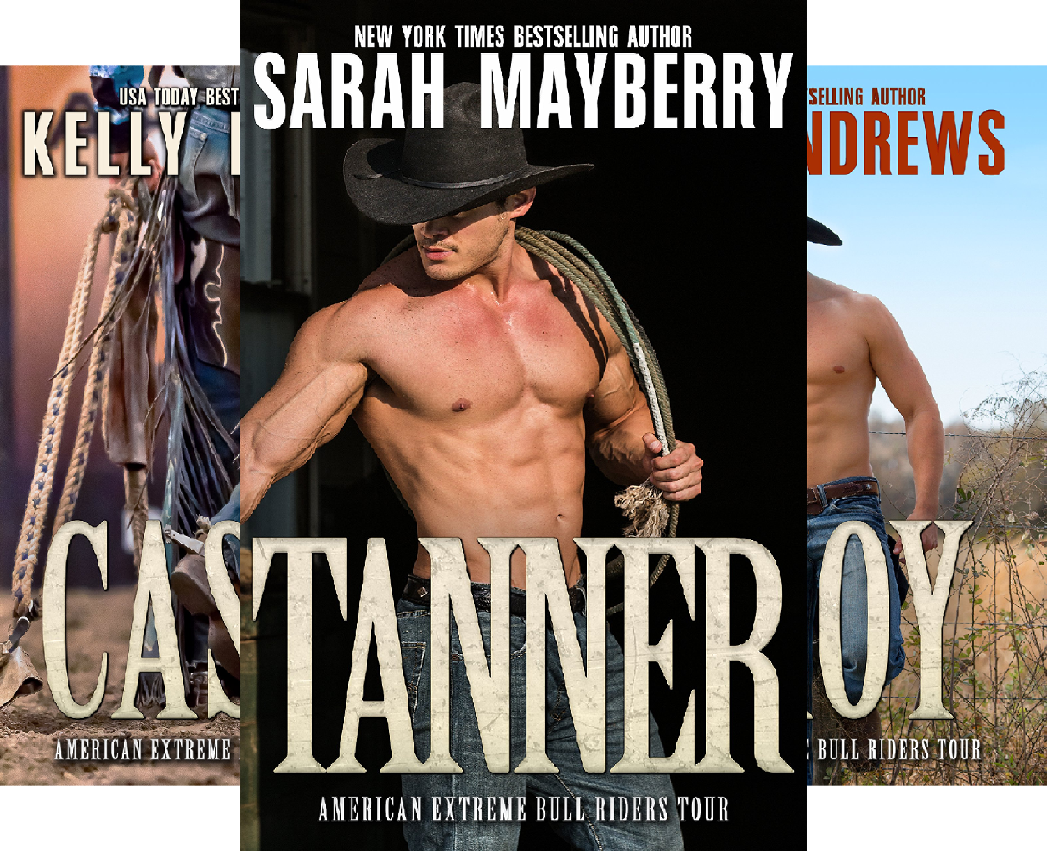 American Extreme Bull Riders Tour (5 Book Series)