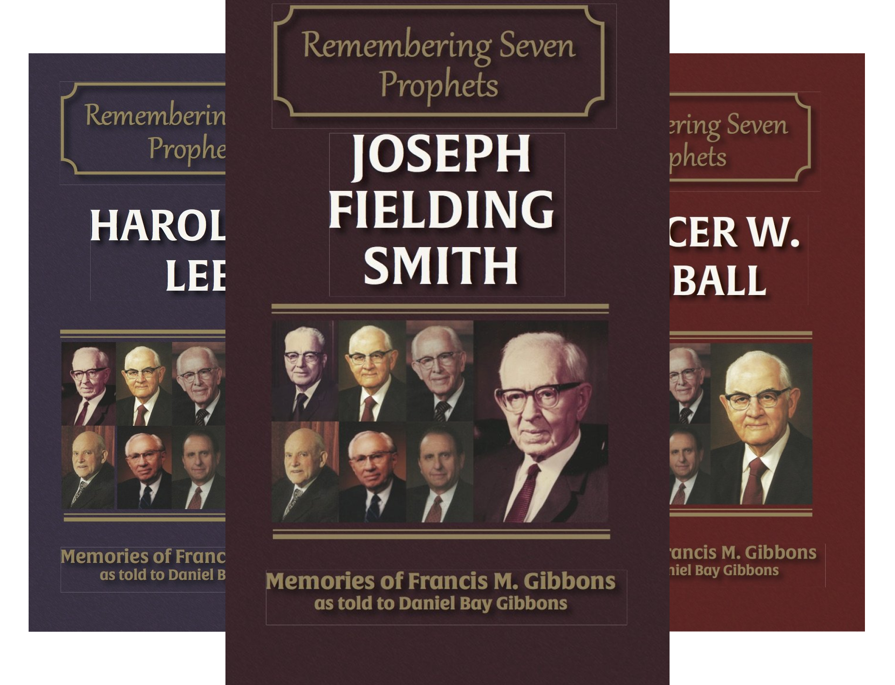 Remembering Seven Prophets (8 Book Series)