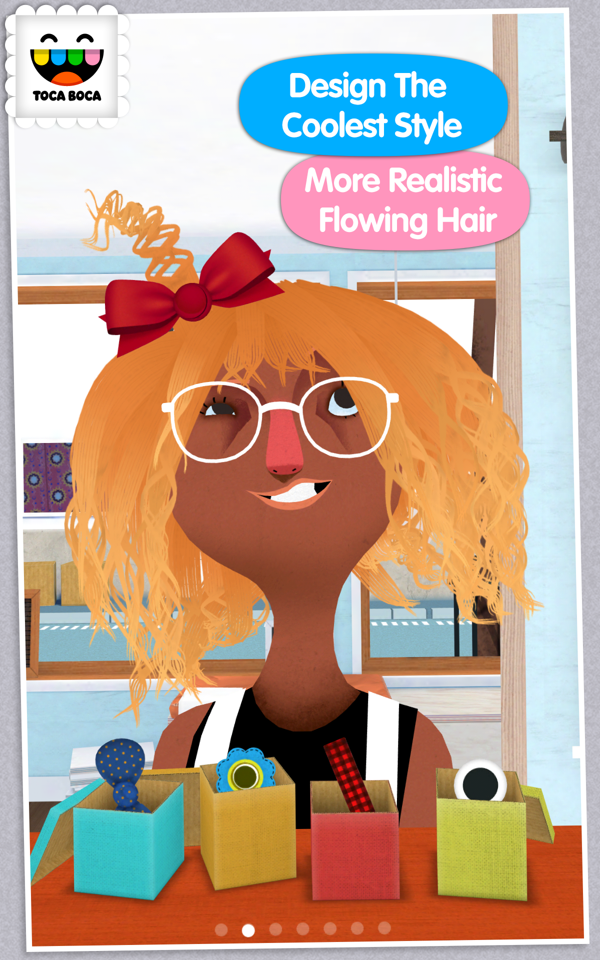 Toca hair salon 2 appstore for android - Toca hair salon game ...