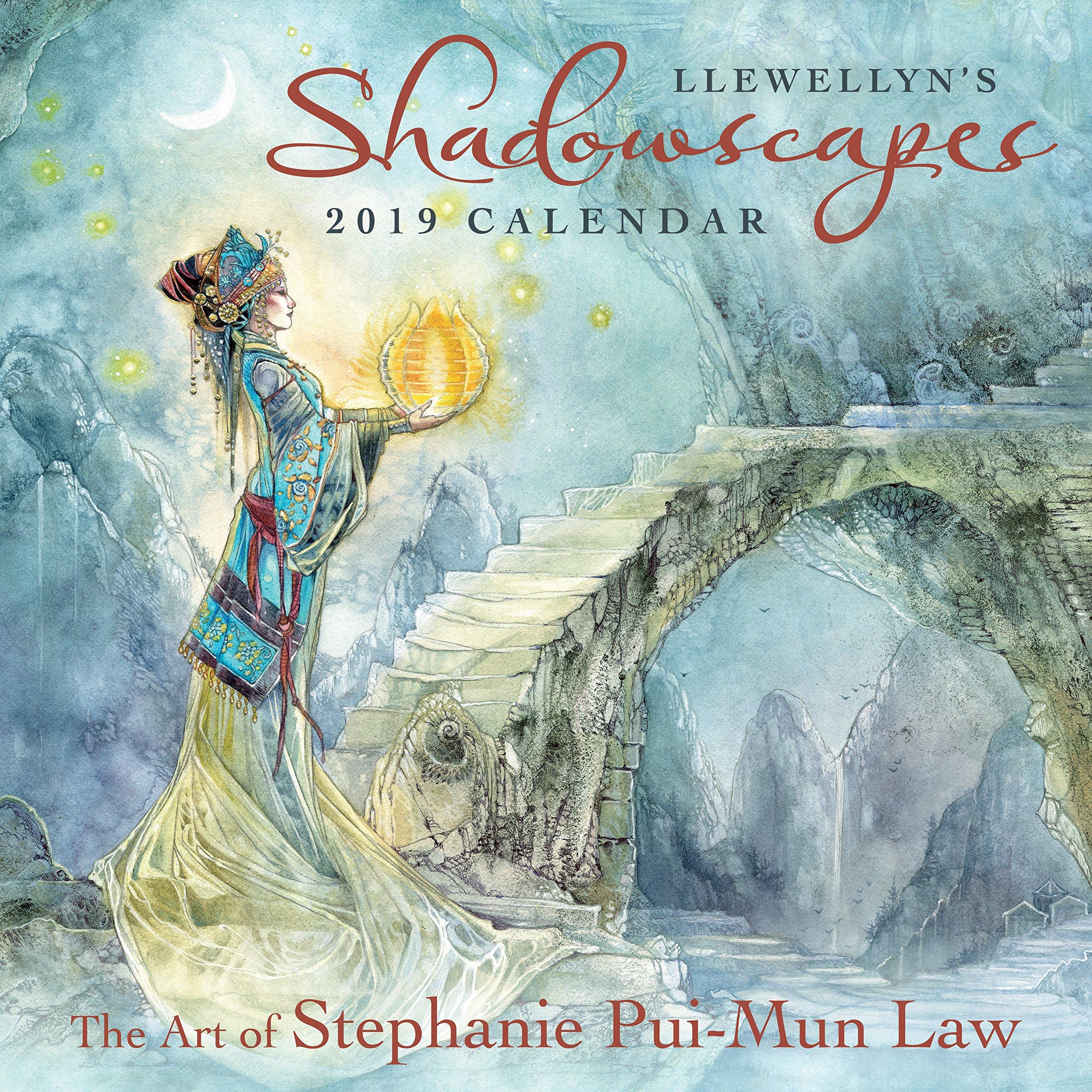 Llewellyns 2019 Shadowscapes Calendar: Stephanie Pui-Mun ...