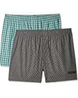 Chromozome Men's Cotton Boxer (Colors May Vary)