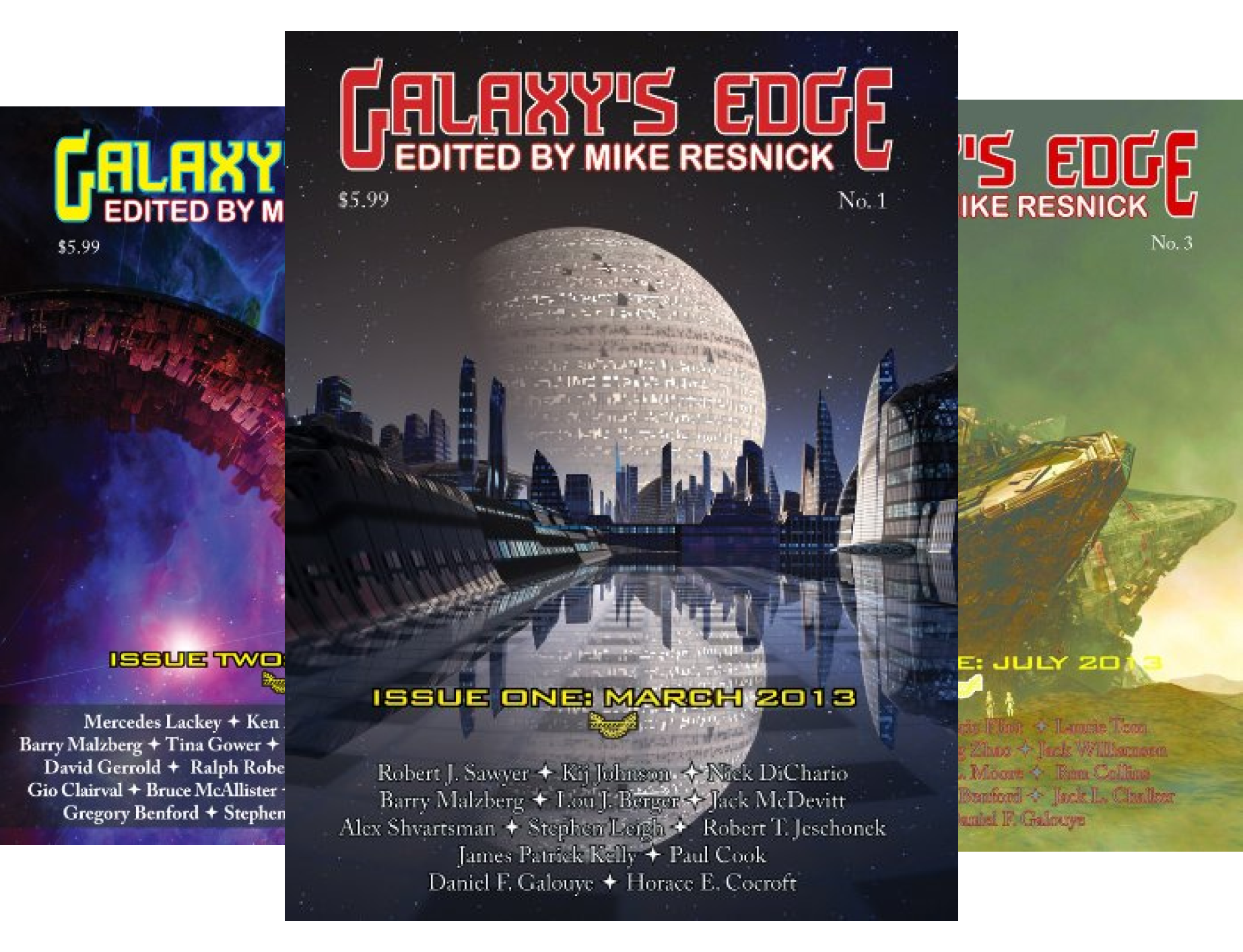Galaxy's Edge (15 Book Series)