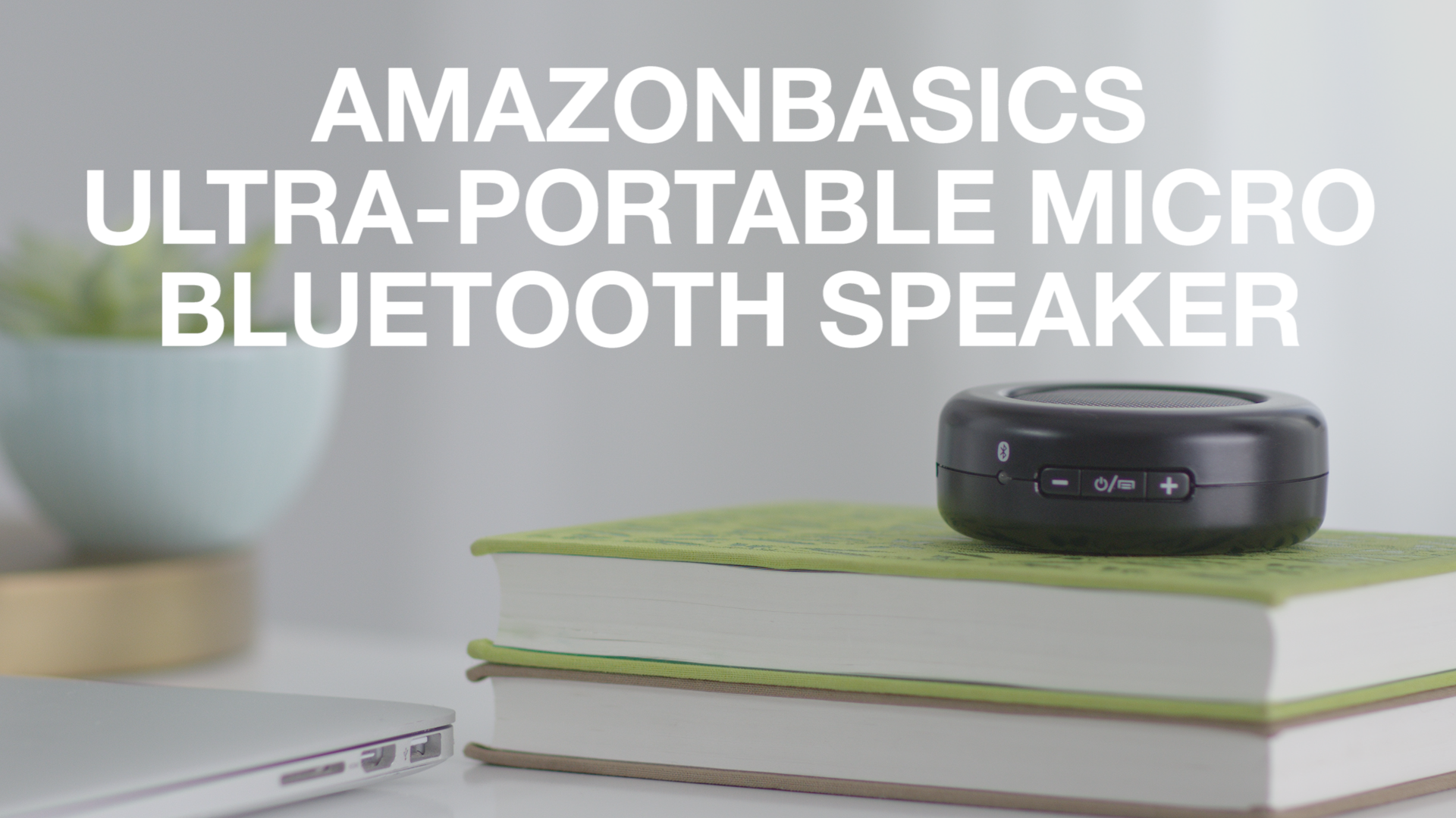 How to use: AmazonBasics Ultra-Portable Micro Bluetooth Speaker