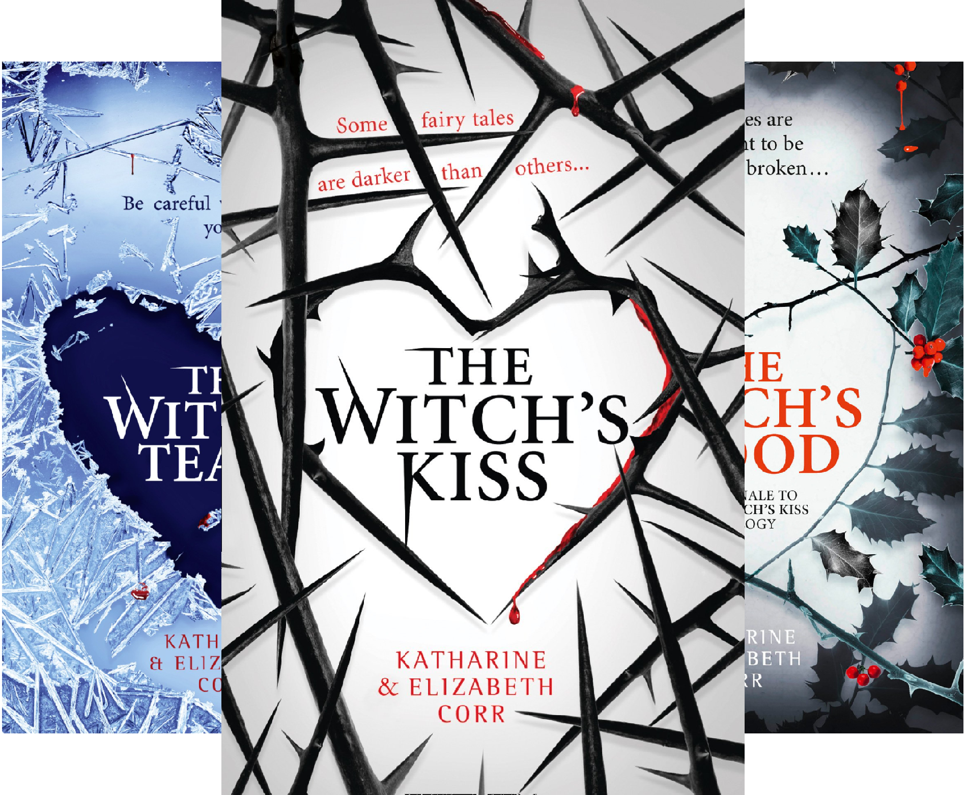 The Witch's Kiss Trilogy (3 Book Series) -