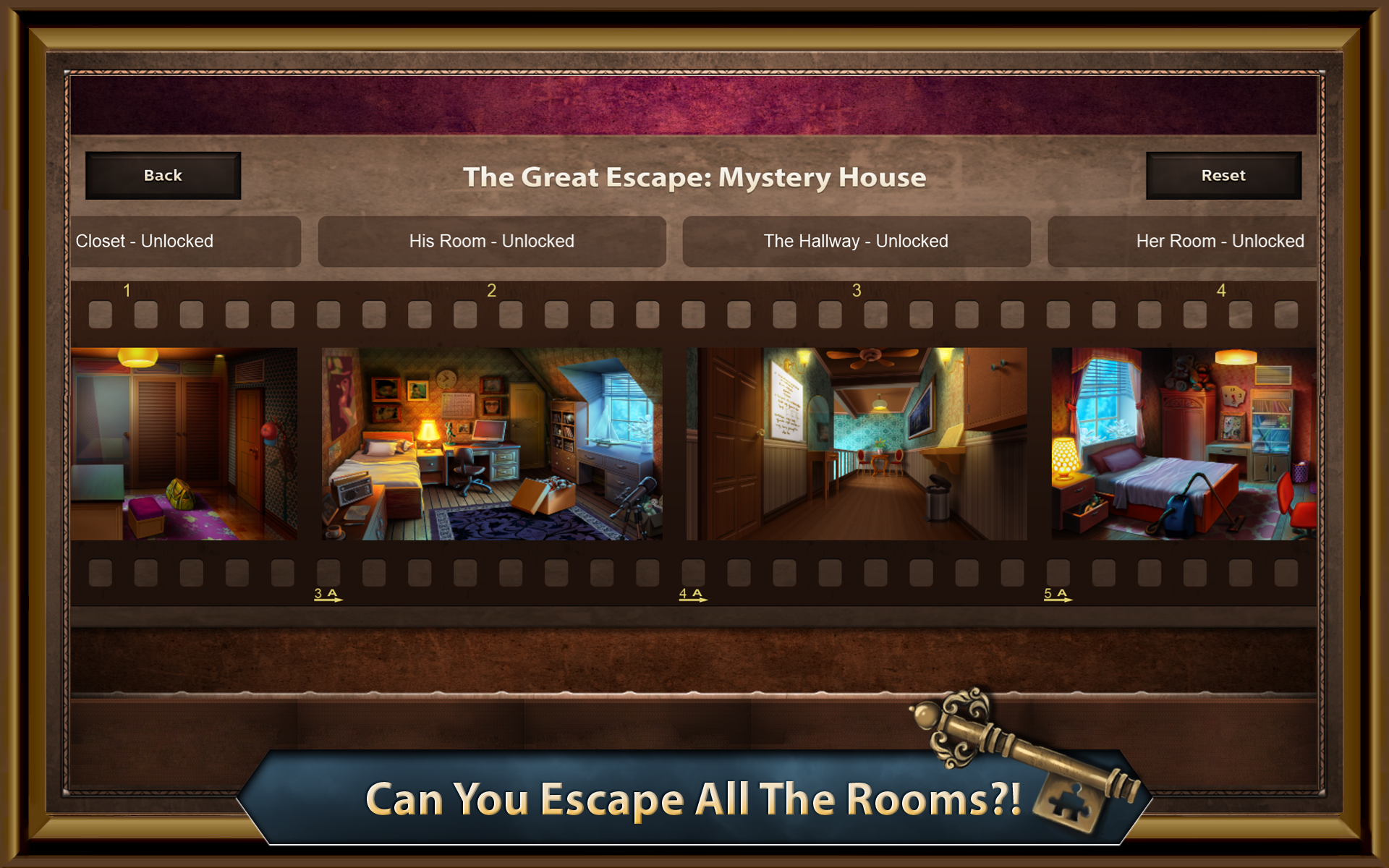 The great escape mystery house amazon for The great escape house