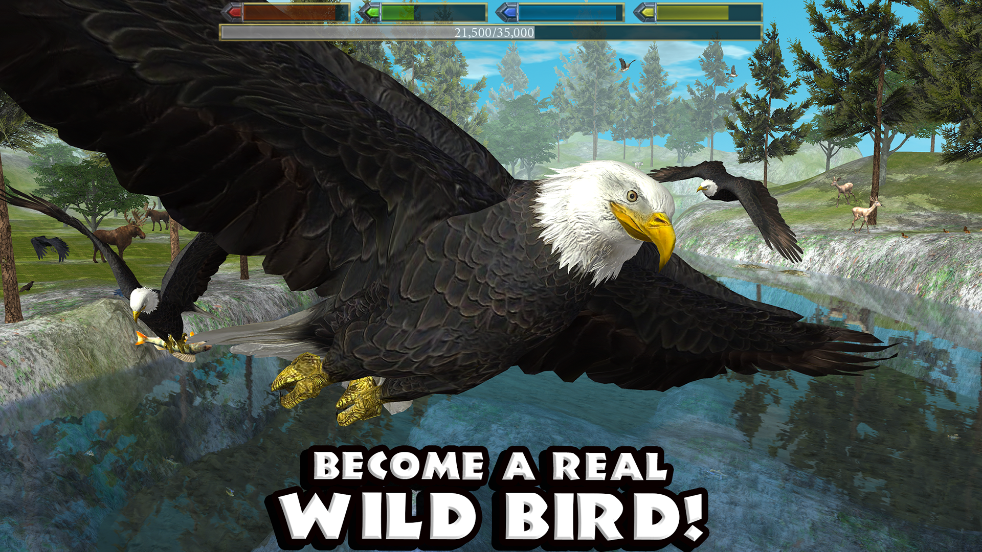 Feather Family Roblox Games For Free Amazon Com Ultimate Bird Simulator Appstore For Android