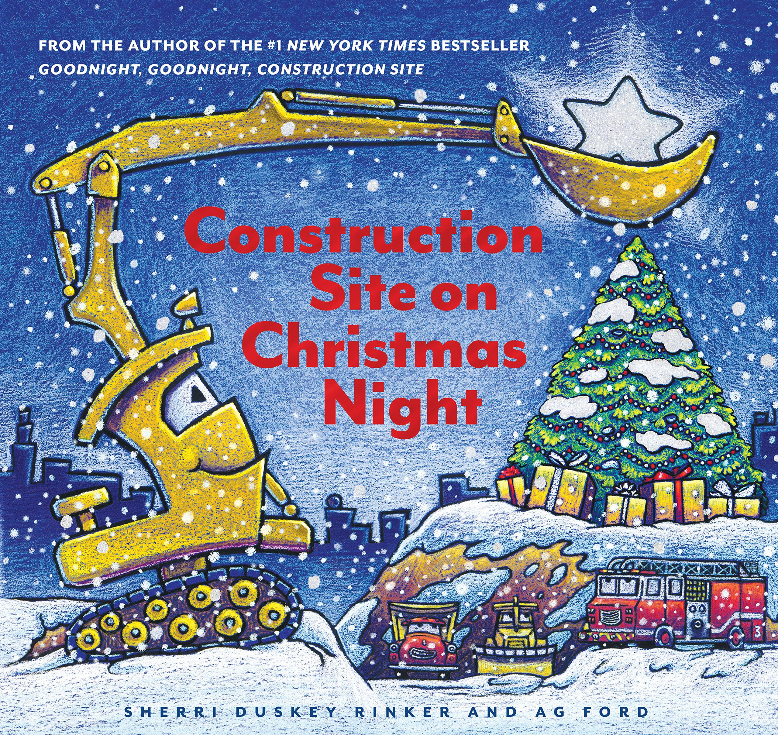 Merry Christmas 2020 Construction Construction Site on Christmas Night: (Christmas Book for Kids