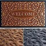 Door Mat - Brown Welcome Mat - Door Mats Outdoor - 30x18 Welcome Mats Outdoor - Front Door Mats Outdoor - Doormat - Fall Door