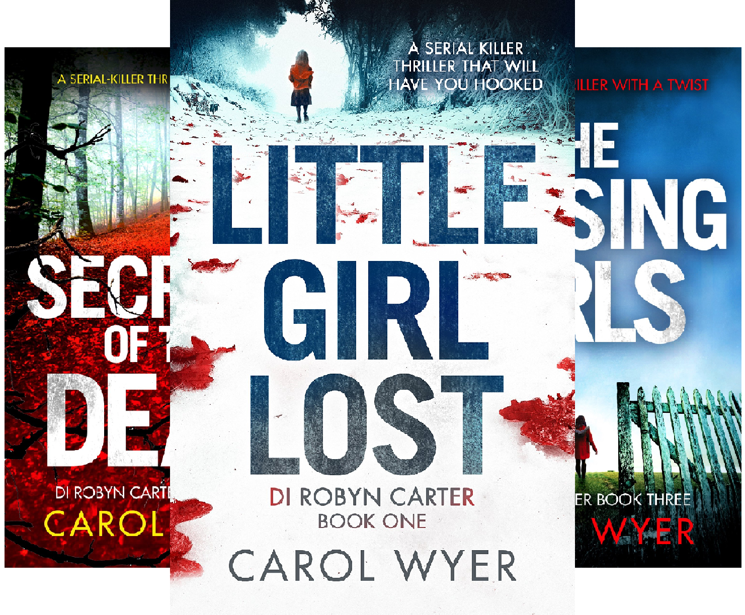 Detective robyn carter series buyer's guide