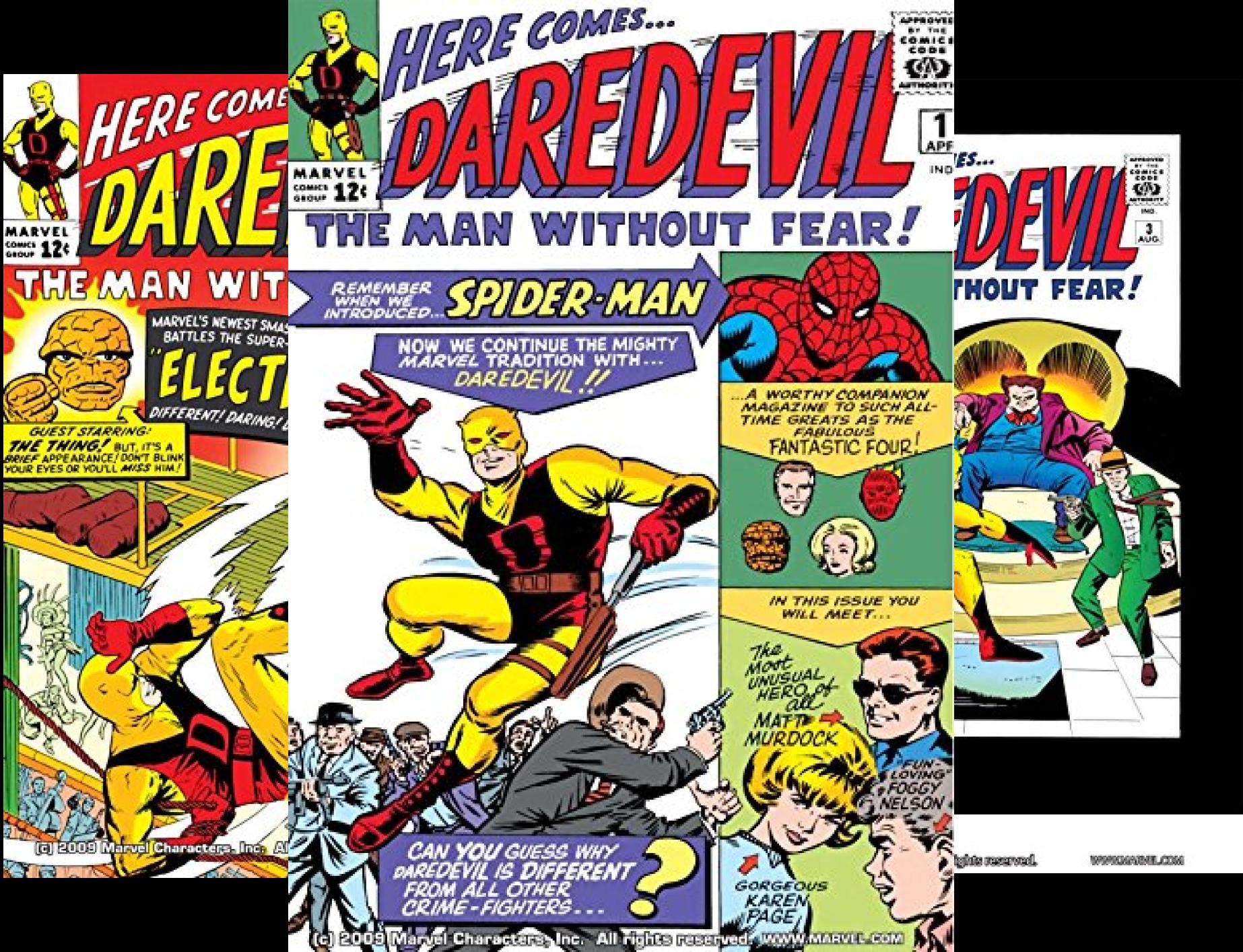 Marvel Masterworks: Daredevil Volume 1 #1-11 (11 Book Series)