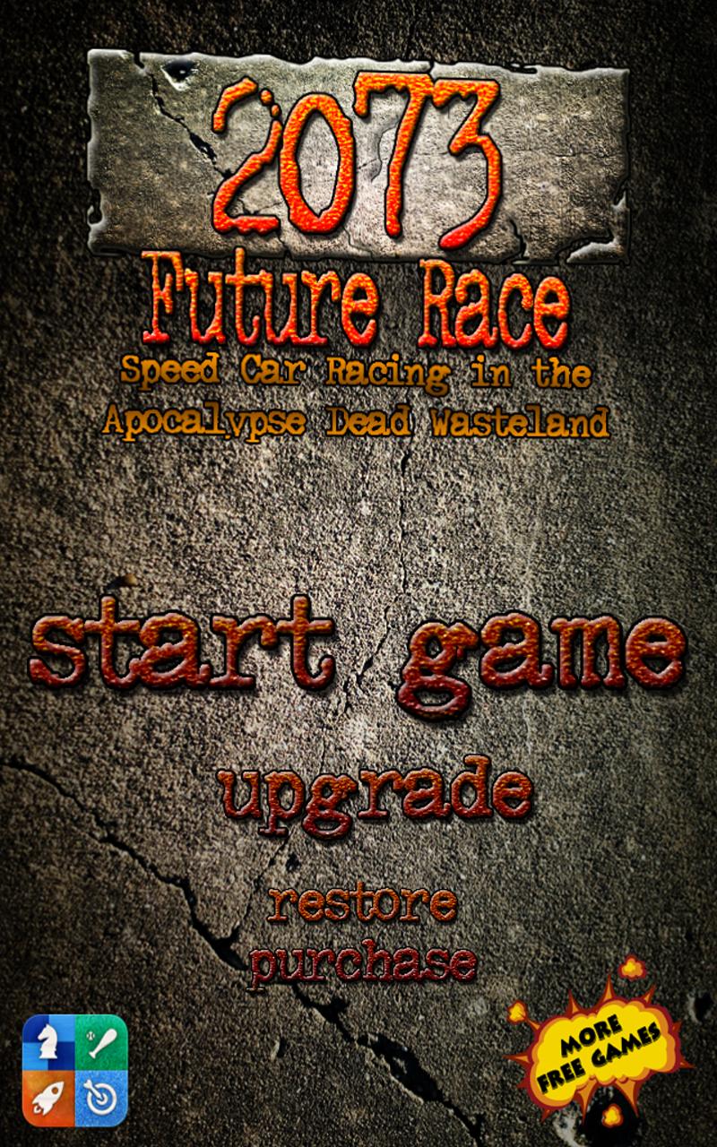 2073 future race une course de voitures dans la ville apocalyptique gratuit. Black Bedroom Furniture Sets. Home Design Ideas