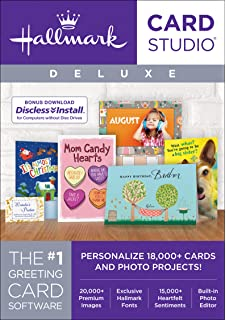 Amazon hallmark card studio 2018 download software hallmark card studio deluxe 2018 download m4hsunfo
