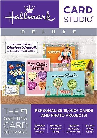 Hallmark Card Studio Deluxe 2018 [Download]