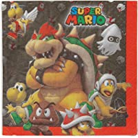 Amscan- Super Mario Servilleta (511554)