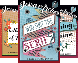 Hand Lettering Mystery (3 Book Series) by  Jessa Archer