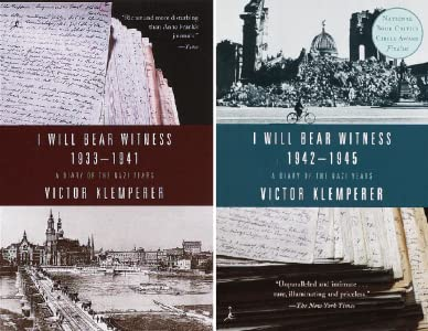 I Will Bear Witness, Volume 1 PDF Free Download