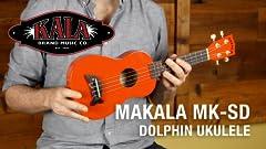 Amazon Com Kala Mk Sd Car Makala Dolphin Soprano Ukulele