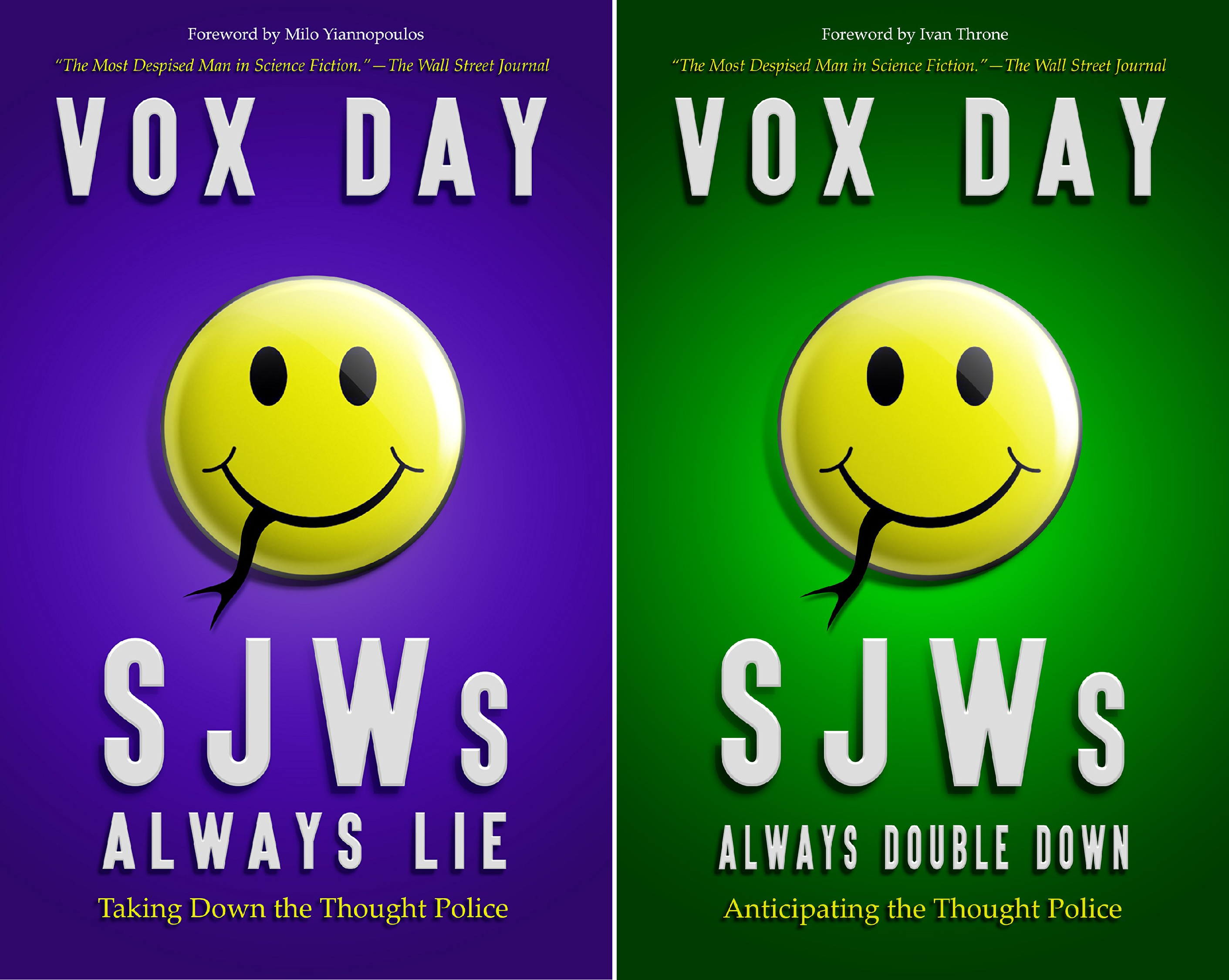 Book cover from The Laws of Social Justice (2 Book Series) by Vox Day