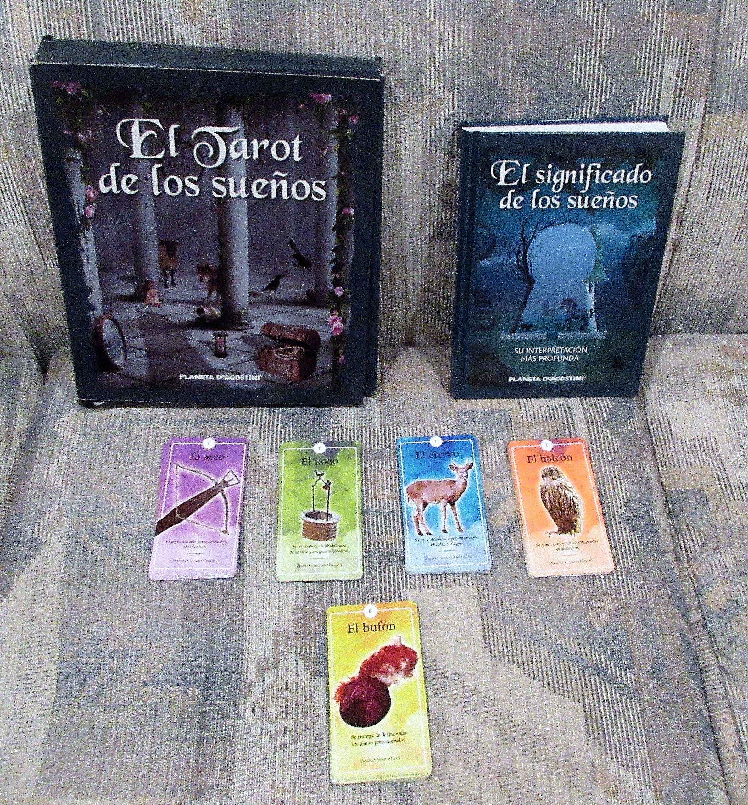 Tarot De Los Sueños (Incluye Libro + Tarot Cartas): Vv.Aa ...