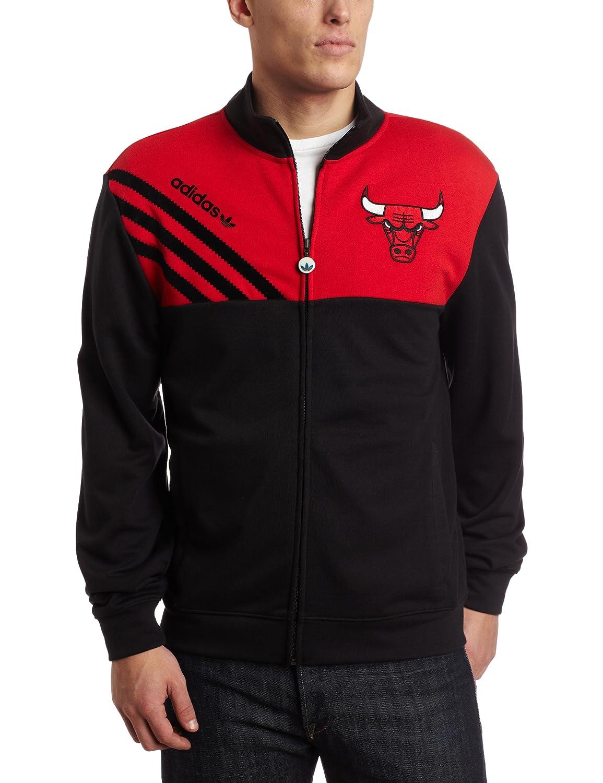 adidas Chicago Bulls Originals Action Black Court Series Track ...