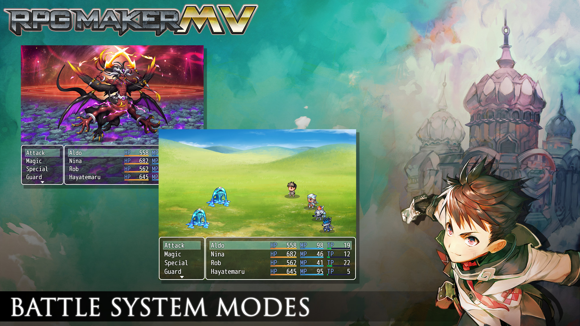 RPG Maker MV 1 3 - Steam Edition [Online Code]