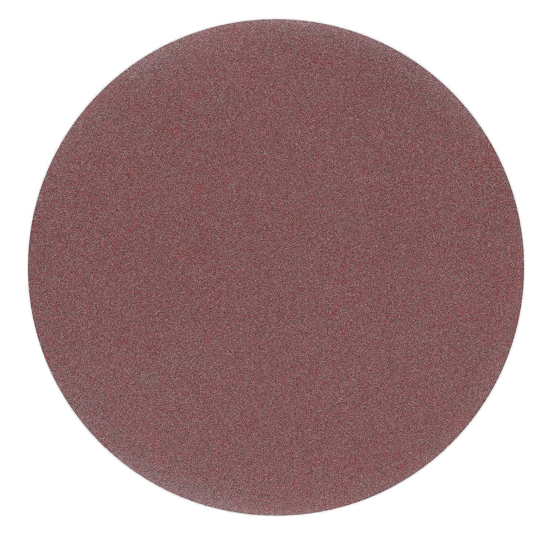 red Film 20 St/ück 125 mm OHNE LOCH Exzenter Schleifscheiben P400 K/örnung Haft Klett Schleifpapier
