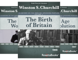 A History of the English-Speaking Peoples (4 Book Series) by  Winston S. Churchill