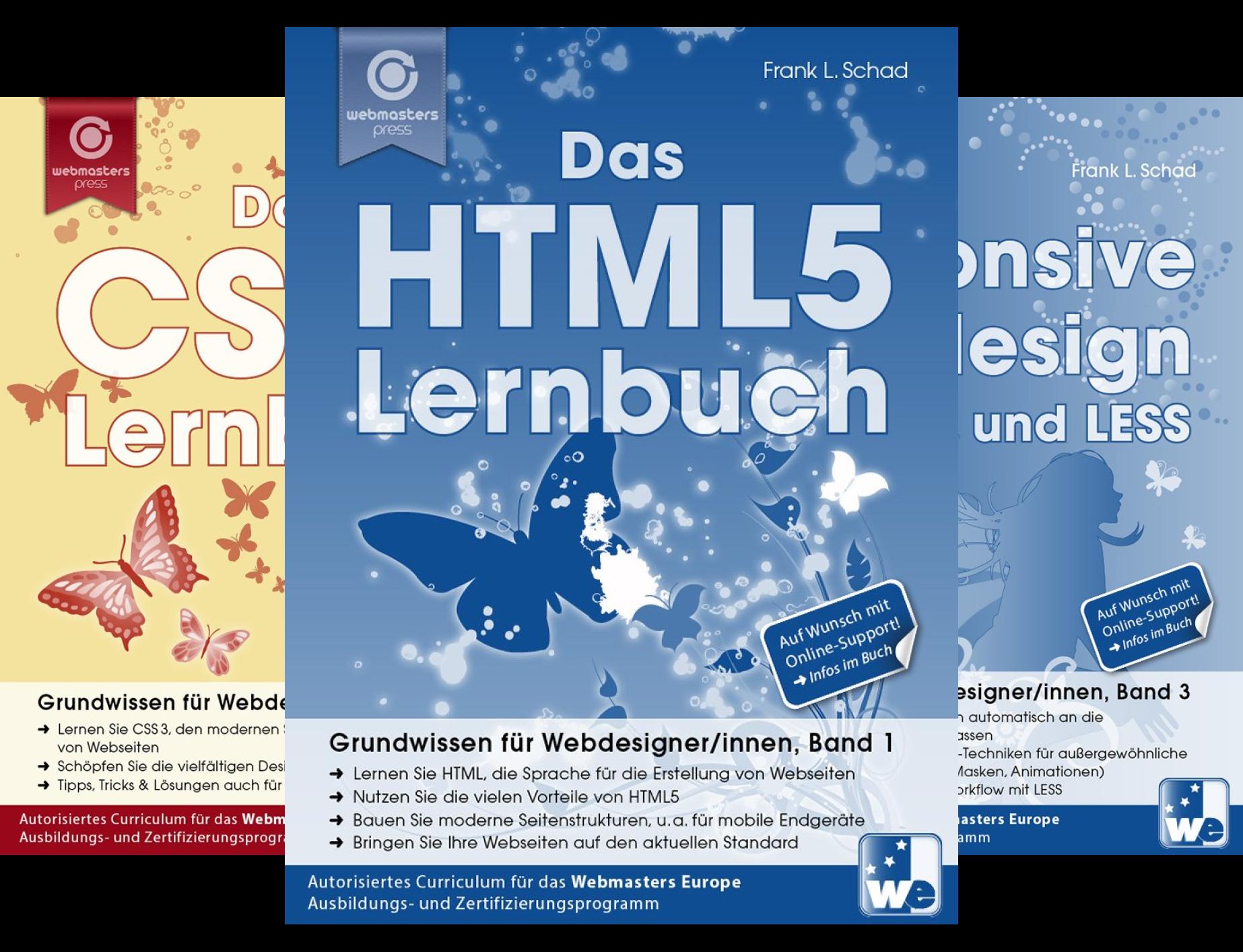 Grundwissen Für Webdesigner/innen (Reihe in 3 Bänden)