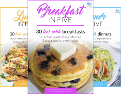 Keto in Five (4 Book Series) by  Vicky Ushakova Rami Abramov