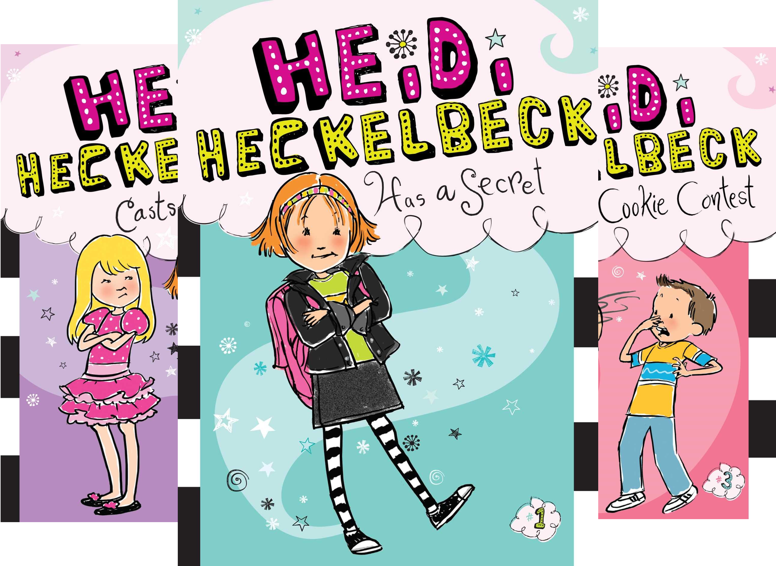 The Heidi Heckelbeck Collection: A Bewitching Four-Book Boxed Set: Heidi Hecklebeck Has a Secret; Heidi Hecklebeck Casts a Spell; Heidi Hecklebeck and the Cookie Contest; Heidi Hecklebeck in Disguise (4 (Halloween 1-8 Box Set)