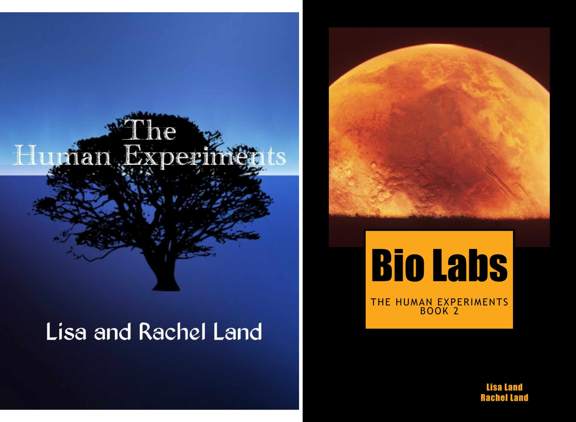 The Human Experiments (2 Book Series)