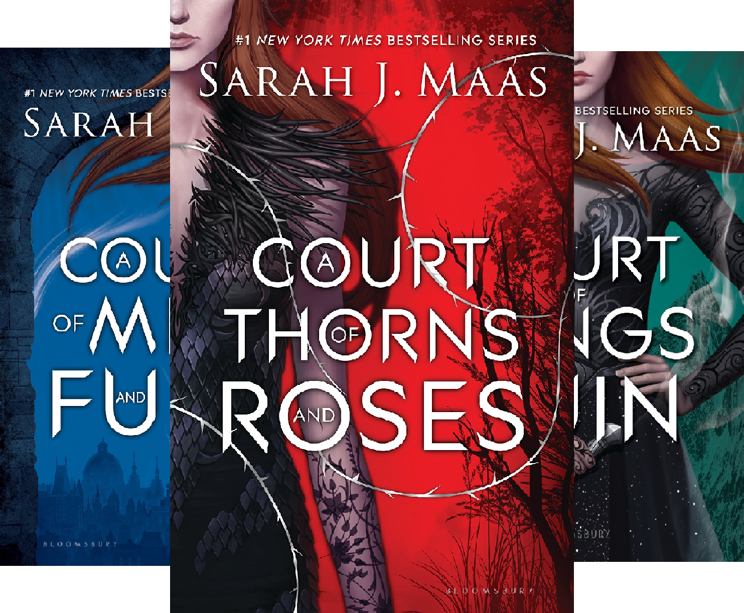 A Court of Thorns and Roses (3 Book Series) (A Court Of Thornes And Roses 3)
