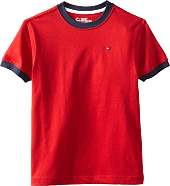 Red Tag Childrens Short Sleeve Thermal Top//T-Shirt