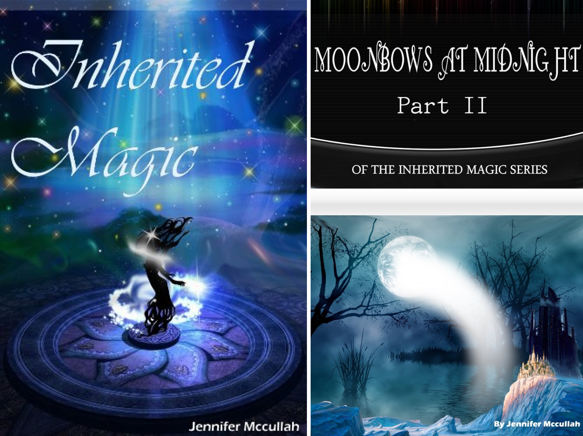 Inherited Magic (2 Book Series)