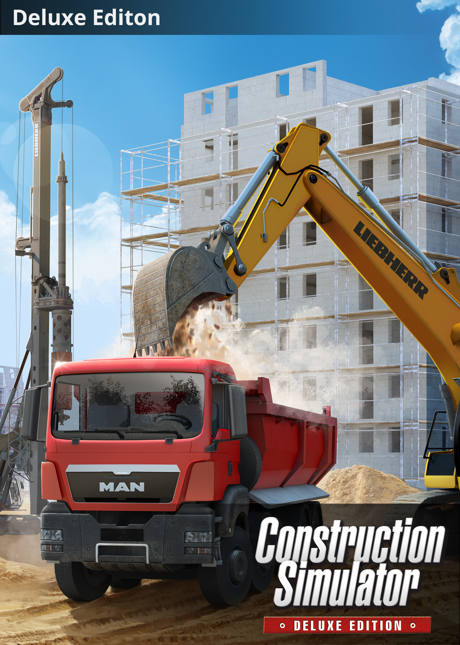 Construction Simulator: Deluxe Edition [Online Game Code] by astragon Entertainment GmbH