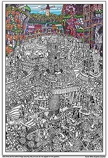 Amazon.com: Wildergorn Color In Poster - Potters\' Road - GIANT ...