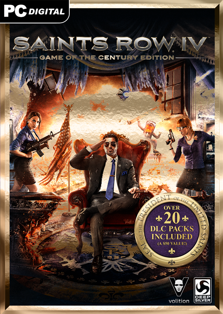 Saints Row IV Game of the Century Edition [Online Game Code] ()