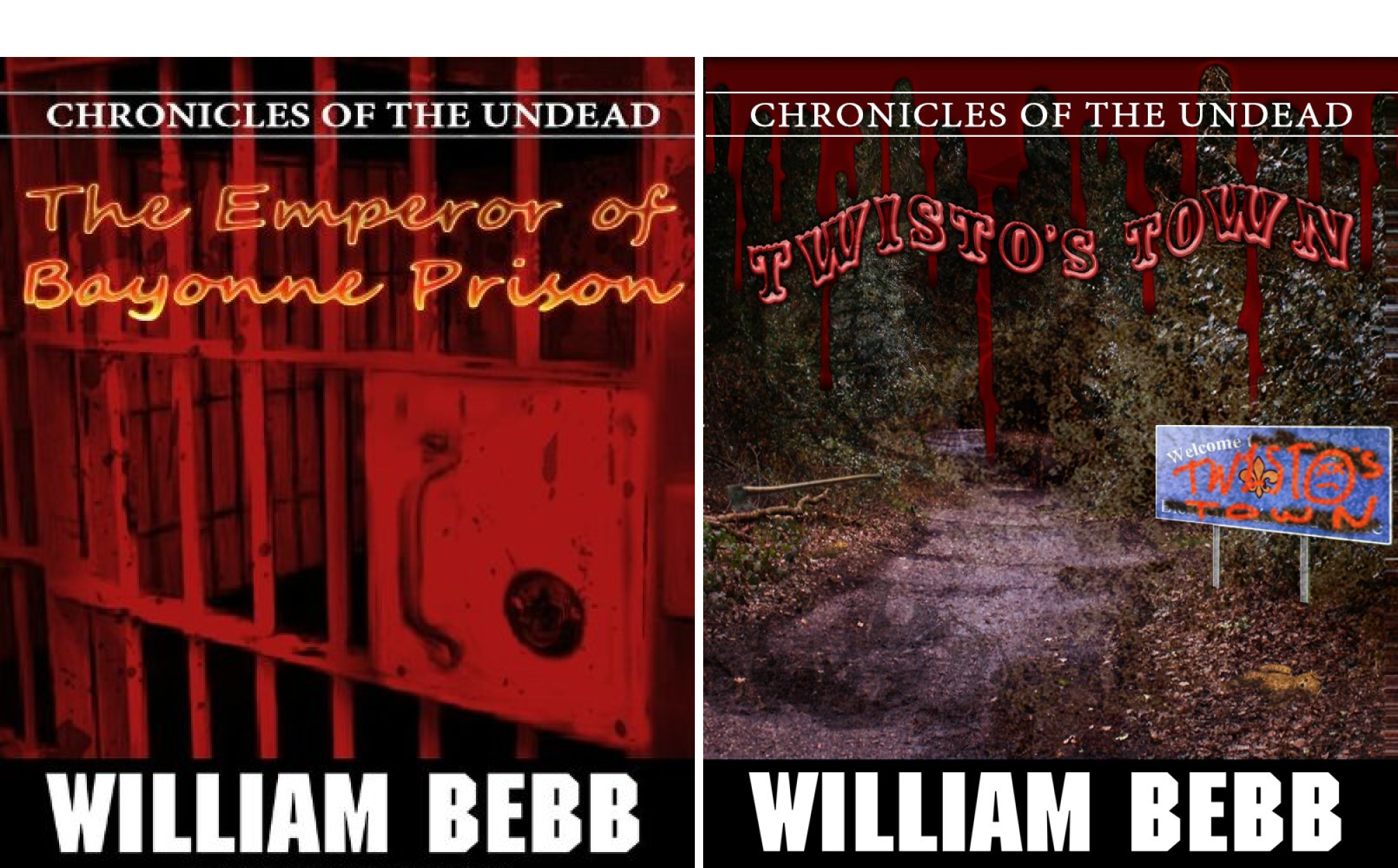 Chronicles of the Undead (2 Book Series)
