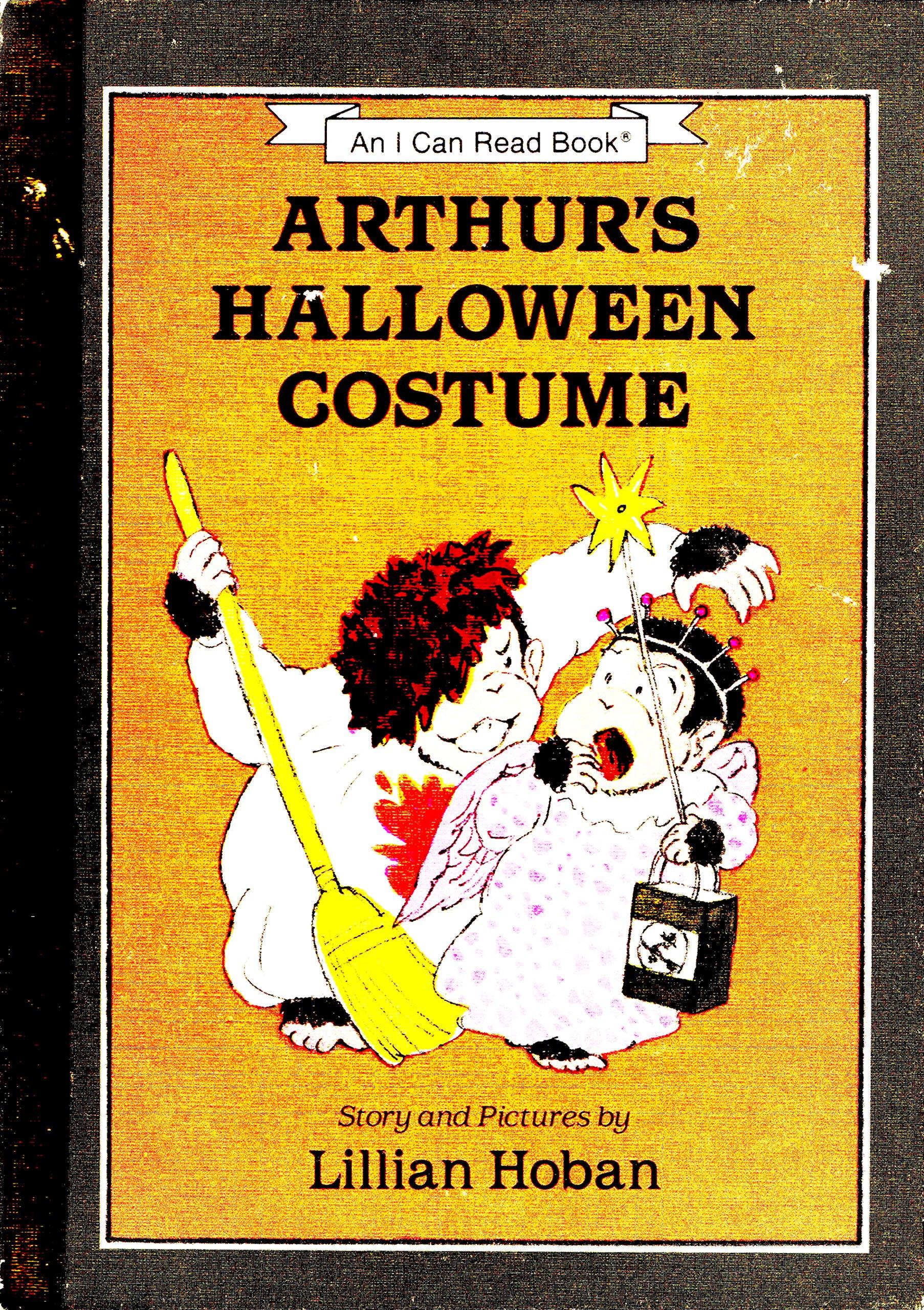 arthurs halloween costume an i can read book lillian hoban 9780060223878 amazoncom books