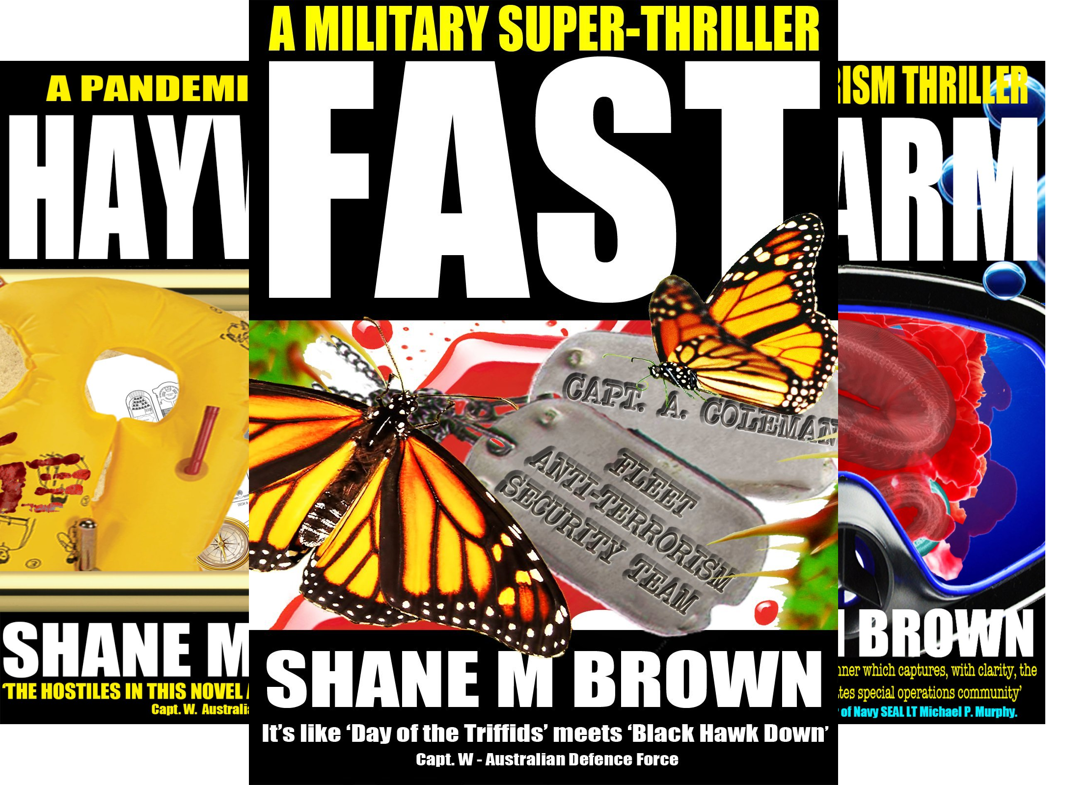 The F.A.S.T. Series (3 Book Series)