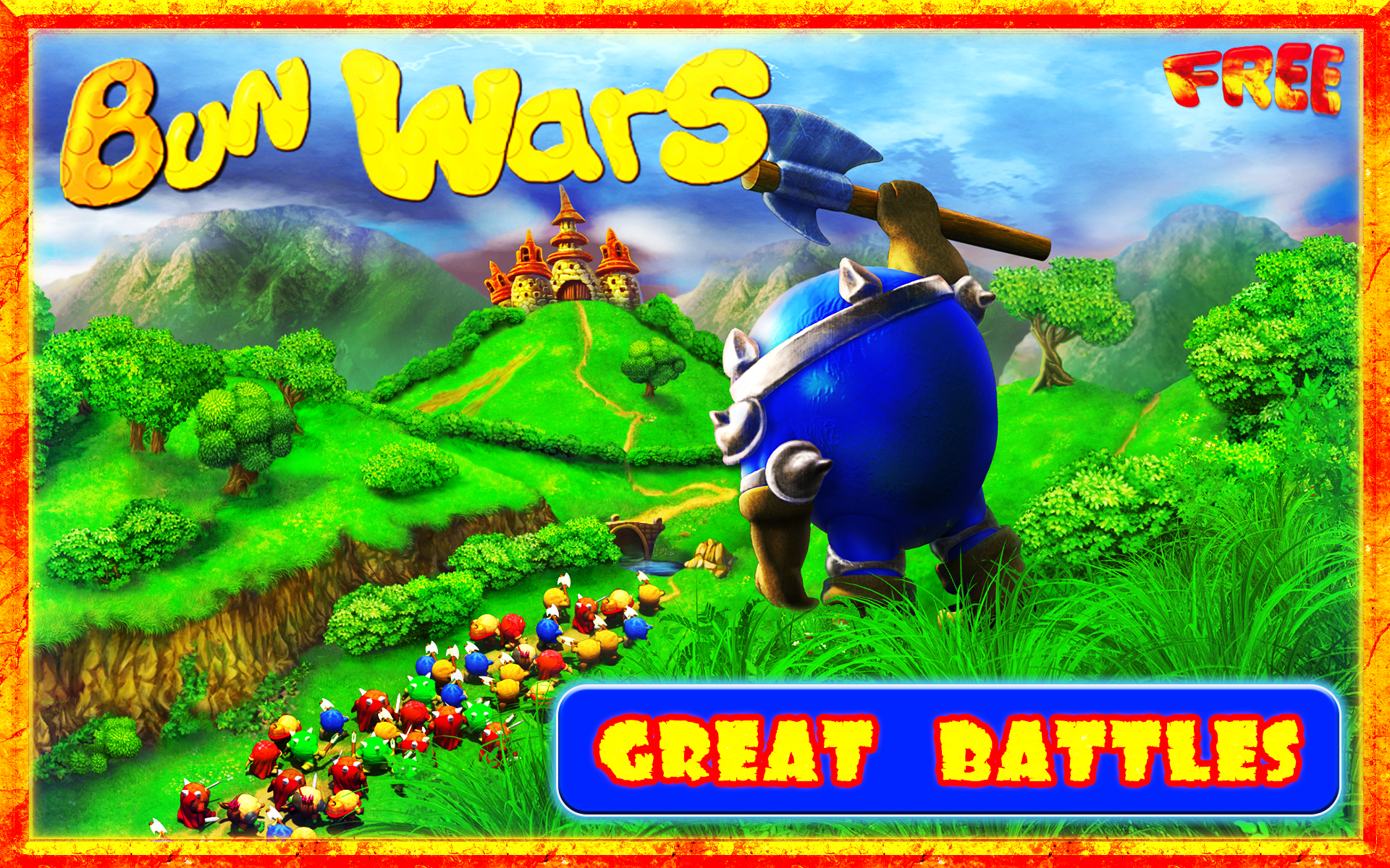 Amazon.com: Bun Wars Free: Survival Strategy TD Game