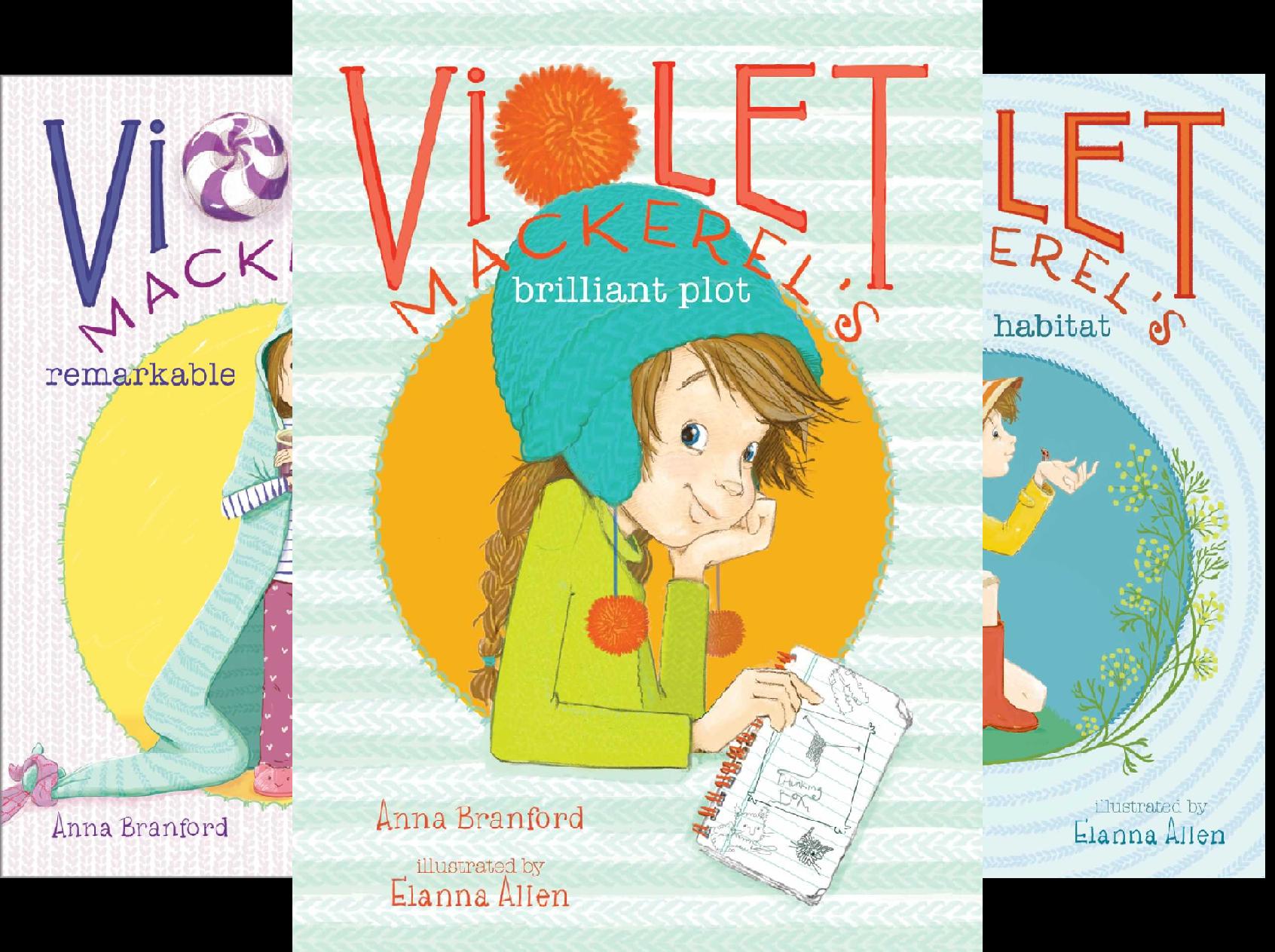 Violet Animal (Violet Mackerel's Outside-the-Box Set: Violet Mackerel's Brilliant Plot, Violet Mackerel's Remarkable Recovery, Violet Mackerel's Natural Habitat, Violet Mackerel's Personal Space (4 Book Series))