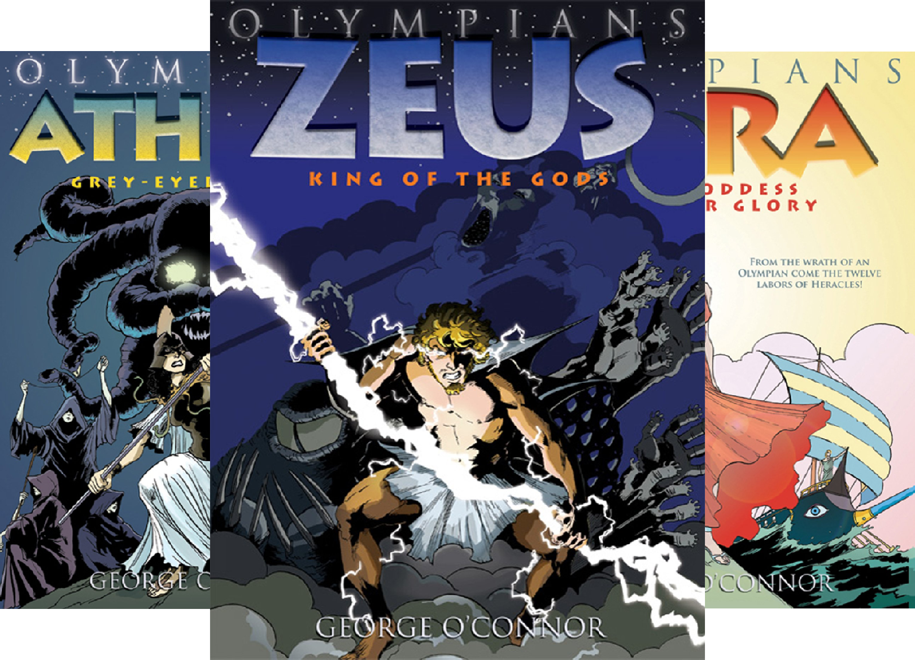 Olympians Boxed Set (6 Book -