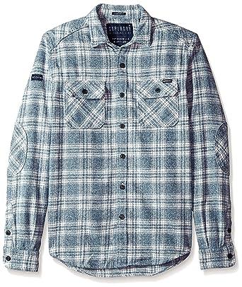bd083605c9 Superdry Men s Milled Flannel Shirt