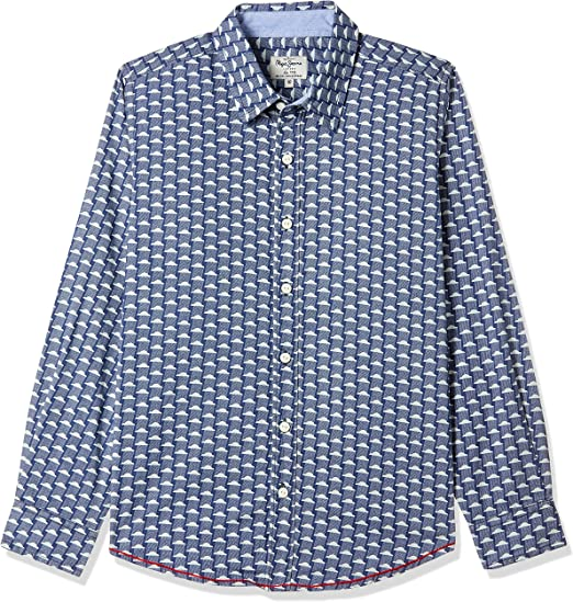 Pepe Jeans Boys' Shirt Boys' Shirts at amazon