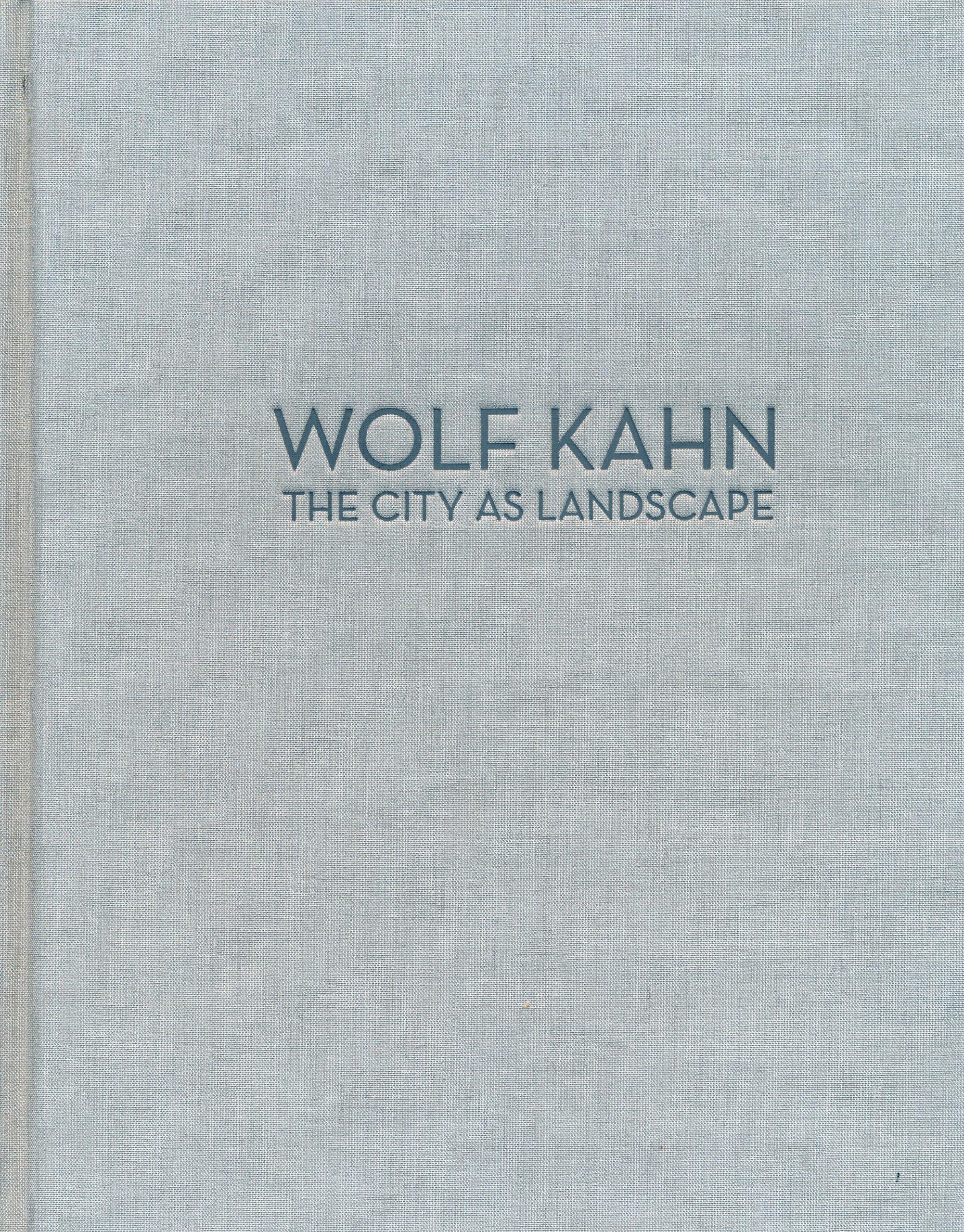 Download Wolf Kahn: The City as Landscape pdf