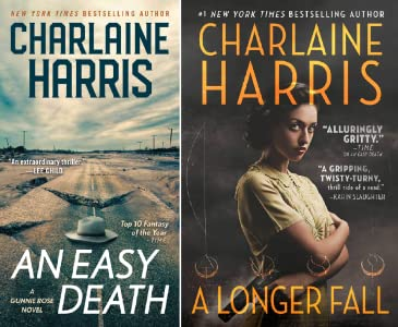 A Longer Fall by Charlaine Harris science fiction and fantasy book and audiobook reviews