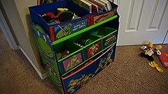 Amazon.com: Contenedor organizador de juguetes Delta ...